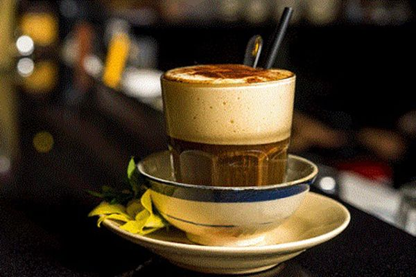Egg coffee - Special delicious drink in Hanoi