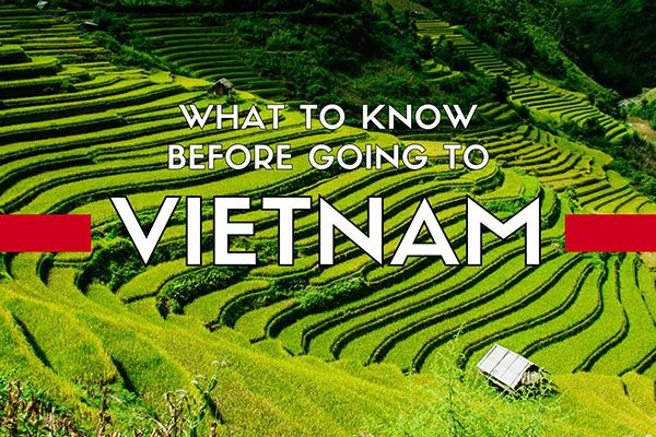 Things to keep in mind when traveling Vietnam